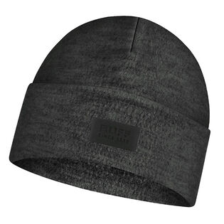 Unsiex Graphite Merino Wool Fleece Hat