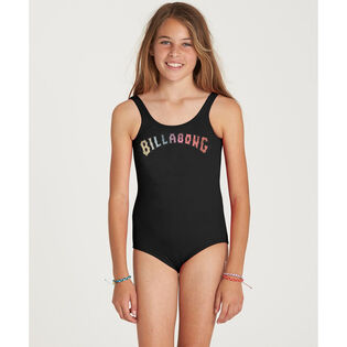 Junior Girls' [7-14] Sol Searcher One-Piece Swimsuit