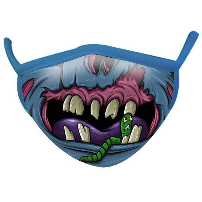 Kids' Wild Smiles Zombie Face Mask