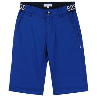 Junior Boys' [4-16] Logo-Waist Bermuda Short