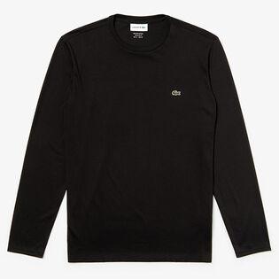 Men's Pima Cotton Jersey Long Sleeve T-Shirt