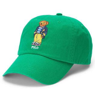 Unisex Polo Bear Chino Ball Cap