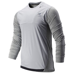 Men's Q Speed Run Crew Pullover Top