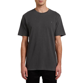 T-shirt Solid Stone Embroidered pour hommes