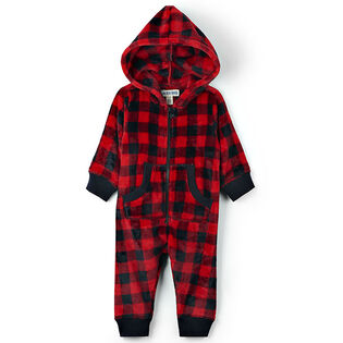 Babies' [3-24M] Hooded Fuzzy Fleece Jumpsuit