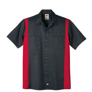 Men's Two-Tone Work Shirt