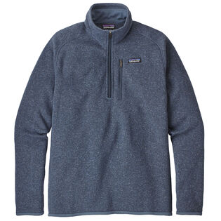Men's 1/4-Zip Fleece Better Sweater® (Past Seasons Colours On Sale)