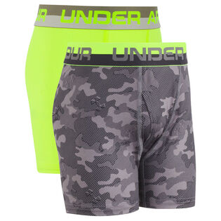 Junior Boys' [8-16] HeatGear® Boxer Brief (2 Pack)