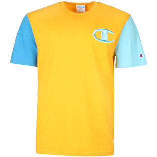 Men's Heritage Colourblock Logo T-Shirt