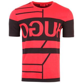 Men's Reverse Logo Knit T-Shirt