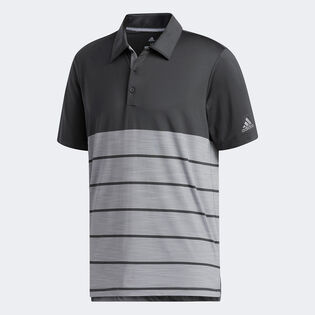Men's Ultimate365 Heather Stripe Polo Shirt