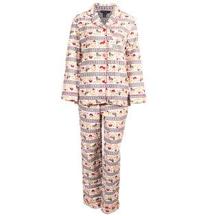 Ensemble pyjama deux pièces Winter Fair Isle pour femmes