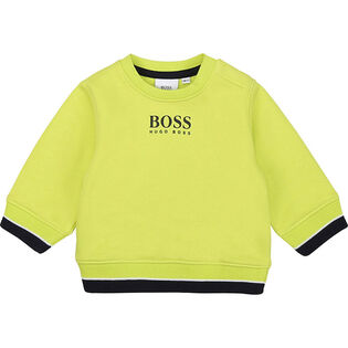Boys' [3M-3Y] Logo Crew Sweatshirt