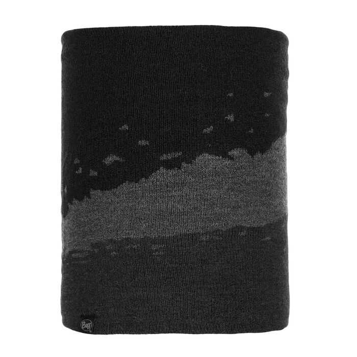 Tove Black Knitted Neck Warmer
