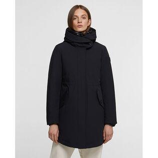 Women's 3-In-1 Long Military Coat