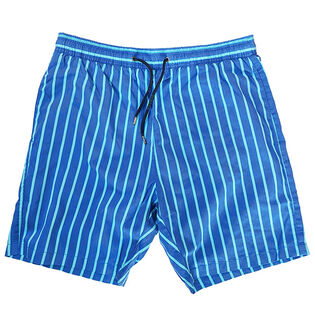 Men's Striped Swim Trunk