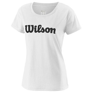 Women's UWII Script Tech T-Shirt