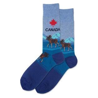 Men's Canada Crew Sock