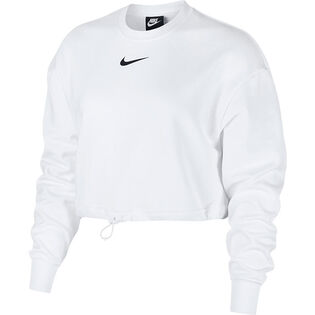 Women's Swoosh French Terry Crew Sweatshirt
