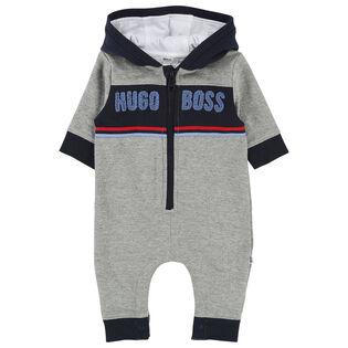 Baby Boys' [3-18M] Logo One-Piece Jumpsuit