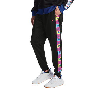 Men's Pop Colour Logo Track Pant