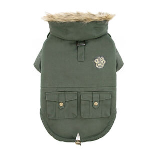 Army Parka Dog Jacket (Size 22)