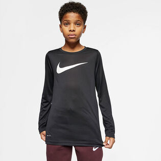 Junior Boys' [8-16] Long Sleeve Training T-Shirt