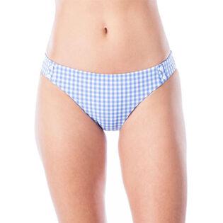 Women's Capri Gingham Charmer Bikini Bottom