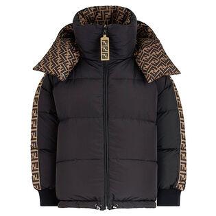 Women's Oversized Reversible FF Puffer Jacket