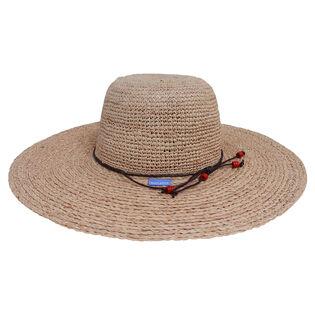 Women's Large Brim Napa Hat