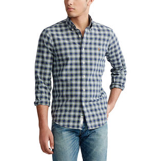 Men's Classic Fit Plaid Oxford Shirt