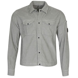 Men's Old Dyed Stretch Corduroy Lens Overshirt