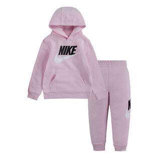 Ensemble chandail à capuchon + pantalon de jogging pour filles [2-4T]