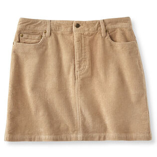 Women's Short Corduroy Skirt
