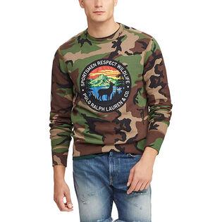 11c186335675f Men s Camo Cotton-Blend Sweatshirt ...