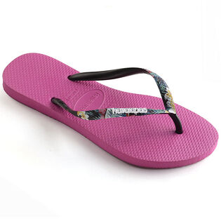 c052ad01cf41 Women s Slim Tropical Flip Flop Sandal ...