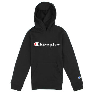 Junior Boys' [8-16] Logo Fleece Pullover Hoodie