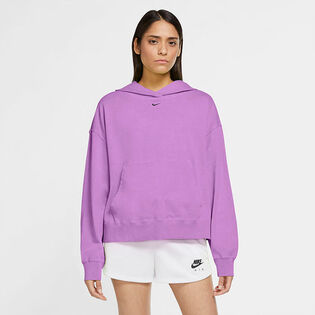 Chandail à capuchon Sportswear Washed pour femmes
