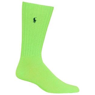 Men's Neon Slouchy Crew Sock