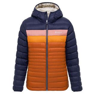 Manteau en duvet avec capuchon Fuego pour femmes