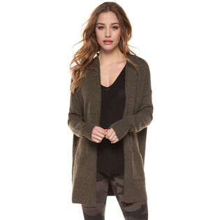 Women's Lace-Up Back Cardigan