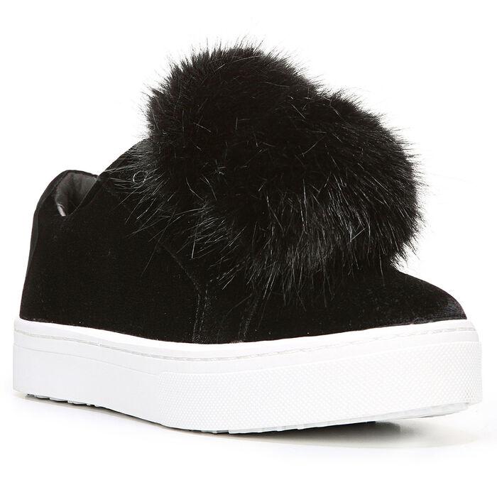 aa379cff5748 Women s Leya Velvet Fur Sneaker