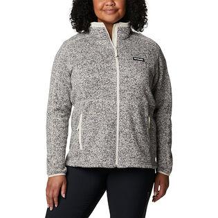 Women's Sweater Weather™ Full-Zip Jacket (Plus Size)