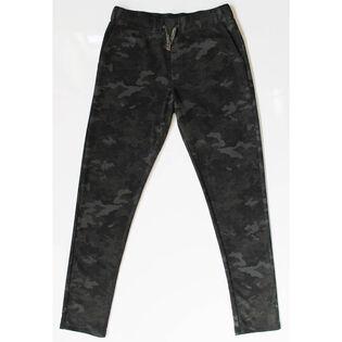 Pantalon en molleton double face pour hommes
