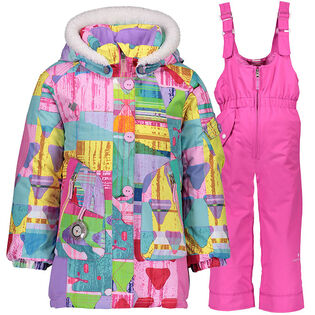 Girls' [2-7] Pop Star + Snoverall Two-Piece Snowsuit