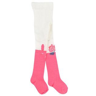 Collant Bunny Knit pour filles [6M-3]