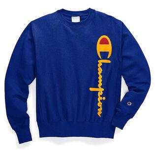 Men's Reverse Weave® Big Script Crew Sweatshirt