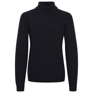 Men's Solid Turtleneck Sweater