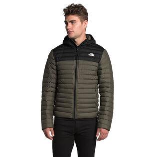 Men's Stretch Down Hoodie Jacket