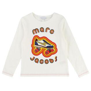 Junior Girls' [8-12] Roller Skate T-Shirt